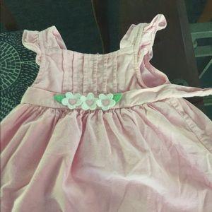 Florence Eiseman pink corduroy dress